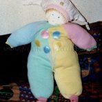 Poupée à base de vêtement de bébé