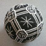 Temari noir&blanc
