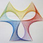 Stitching «arc en ciel»