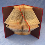 Geometrical folded book