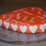 Gâteau coeur St Valentin