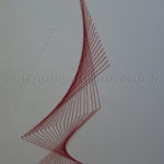 Sculpture paper embroidery