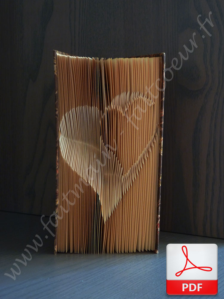 New folded book patterns