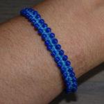 Bracelet macrame perles 02
