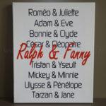 Tableau mariage 01