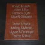 Tableau mariage 02