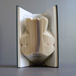 """Teddy bear"" folded book"