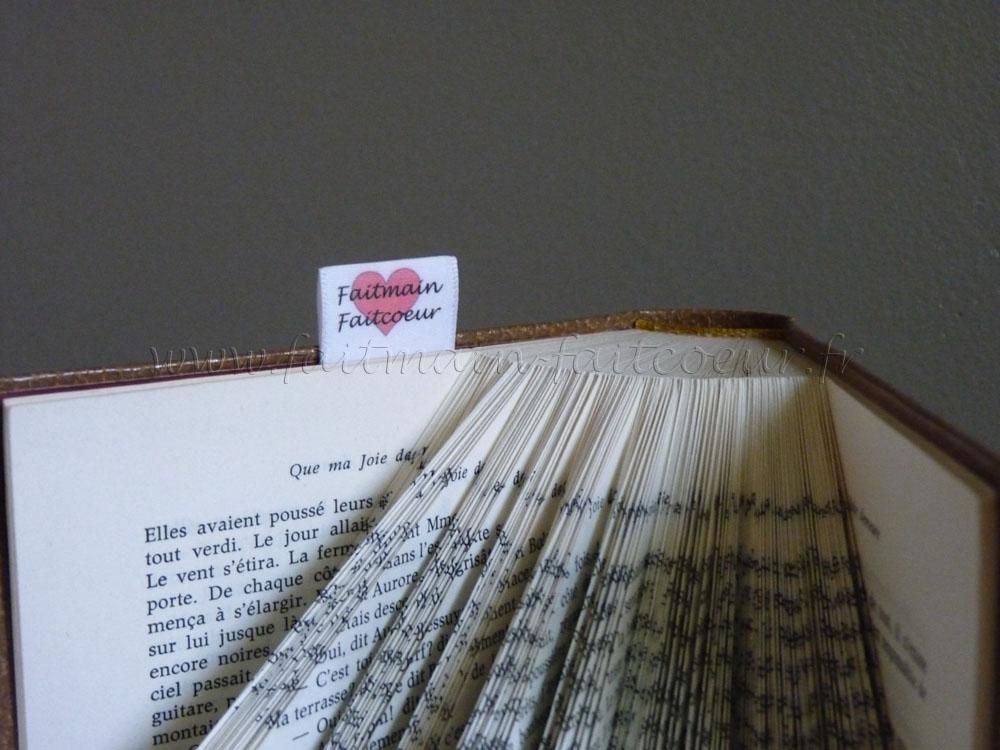"""""""Julien"""" folded book"""