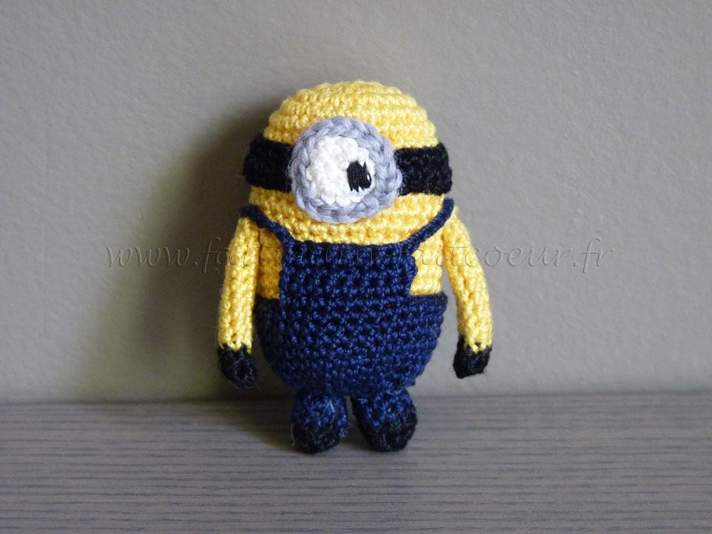 Amigurumi Minions En Crochet : Faitmain Faitcoeur