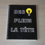 Personnaliser un cahier à idées