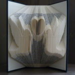 Loving birds folded book